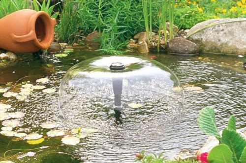 Насос для фонтану - правила вибору моделей, саморобна конструкція, відео