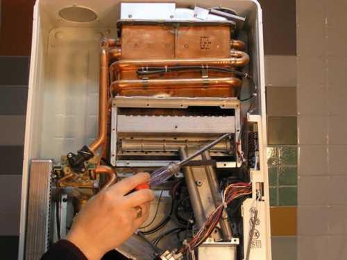 Ремонт теплообменника газового котла своими руками 56